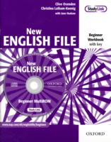 New English File Beginner Workbook with Answer Booklet and Multi-rom Pack