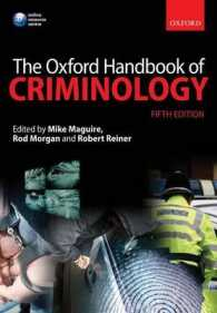 The Oxford Handbook of Criminology (Oxford Handbooks) (5TH)