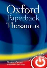 Oxford Paperback Thesaurus (4TH)