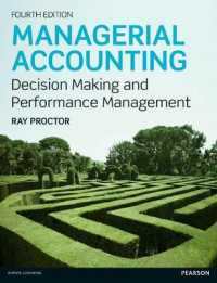 Managerial Accounting : Decision Makling and Performance Management (4TH)