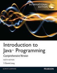 Introduction to Java Programming, Comprehensive Version -- Mixed media product (9TH Pearson International Version)