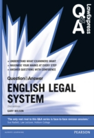 Law Express Question and Answer: English Legal System (Law Express Questions & Answers) -- Paperback (2 Rev ed)
