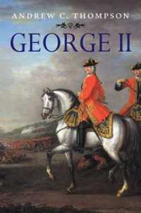 George II : King and Elector (Yale English Monarchs Series)