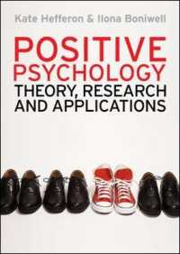 Positive Psychology : Theory, Research and Applications