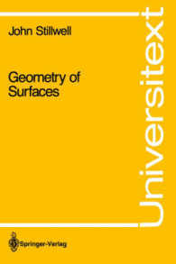 Geometry of Surfaces (Universitext) (1995. XI, 216 S. 165 SW-Abb.)