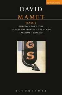 "Mamet Plays: v.2: ""Reunion"", ""Dark Pony"", ""A Life in the Theatre"", ""The Woods"", ""Lakeboat"", ""Edmond"" (Contemporary Dramatists)"
