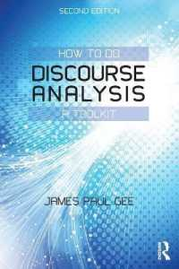 How to Do Discourse Analysis : A Toolkit (2ND)