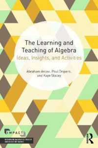 �N���b�N����ƁuThe Learning and Teaching of Algebra : Ideas, Insights, and Activities�v�̏ڍ׏��y�[�W�ֈړ����܂�