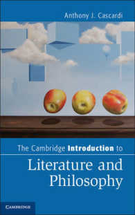 The Cambridge Introduction to Literature and Philosophy (Cambridge Introductions to Literature)