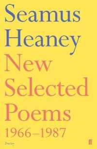New Selected Poems, 1966-1987 -- Paperback