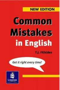 Common Mistakes in English (N/e) (NEW ED)