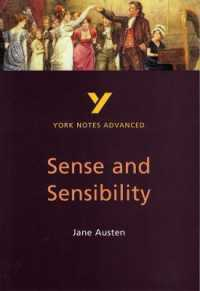 Sense and Sensibility: York Notes Advanced (York Notes Advanced) -- Paperback (2 Rev ed)