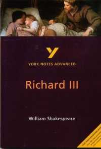 Richard Iii: York Notes Advanced (York Notes Advanced) -- Paperback (2 Rev ed)