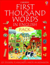 First 1000 Words Pack - English (Usborne First Thousand Words)