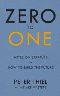 Zero to One : Notes on Start Ups, or How to Build the Future -- Paperback (English Language Edition)