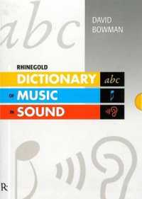 Dictionary of Music in Sound -- Mixed media product