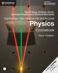 Cambridge International as and a Level Physics Coursebook (2 PAP/CDR)