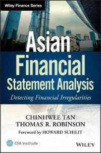 Asian Financial Statement Analysis : Detecting Financial Irregularities (Wiley Finance)