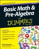 Basic Math & Pre-Algebra for Dummies (For Dummies (Math & Science)) (2ND)