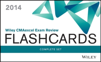 Wiley CMAexcel Exam Review Flashcards 2014 (2-Volume Set) <2 vols.> (2 vols.) (CRDS)