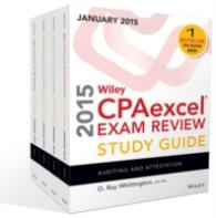 Wiley CPAexcel Exam Review 2015 Study Guide January (4-Volume Set) <4 vols.> (4 vols.)