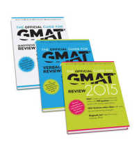 The Official Guide for GMAT Review 2015 + - the Official Guide for GMAT Verbal Review Guide 2015 + the Officail Guide for GMAT Quantitative Review Gui (PCK)