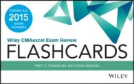 Wiley CMAexcel Exam Review 2015 Flashcards : Financial Decision Making (1 FLC CRDS)