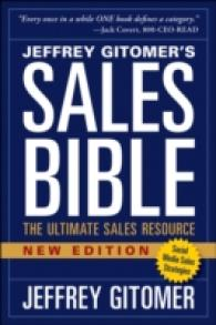 Sales Bible : The Ultimate Sales Resource (New)