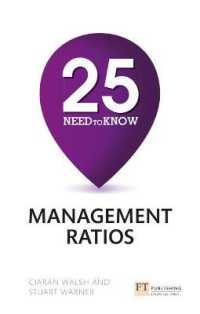 25 Need-to-know Management Ratios -- Paperback