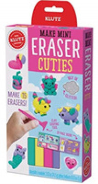 Make Mini Eraser Cuties -- Paperback