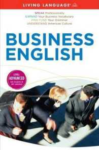 Business English : Level: Advanced (Living Language) (PAP/COM UN)