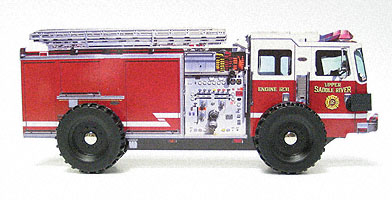 Fire Engine -- Board book