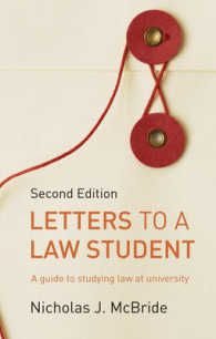Letters to a Law Student A Guide to Studying Law at University