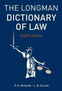 The Longman Dictionary of Law (8 PAP/PSC)