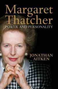 Margaret Thatcher : Power and Personality -- Hardback