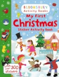 My First Christmas Sticker Activity Book -- Paperback