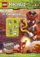 Lego Ninjago: Ninja vs Fangpyre Activity Book with Minifigure -- Paperback