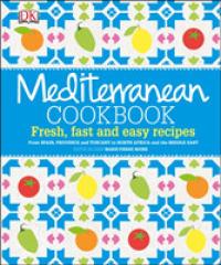 Mediterranean Cookbook -- Hardback
