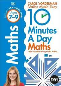 10 Minutes a Day Maths Ages 7-9 (Reissues Education 2014) -- Paperback