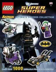 Lego Batman Ultimate Sticker Collection Lego Dc Universe Super Heroes -- Paperback