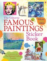 Famous Paintings Sticker Book -- Paperback