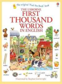 First Thousand Words in English (Usborne First Thousand Words) -- Paperback