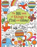 Big Book of Things to Find and Colour -- Paperback