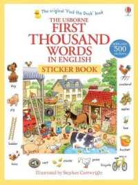 First Thousand Words in English Sticker Book -- Paperback