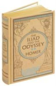 Iliad & the Odyssey (Barnes & Noble Leatherbound Classic Collection) -- Hardback