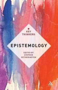 Epistemology : The Key Thinkers (Key Thinkers)