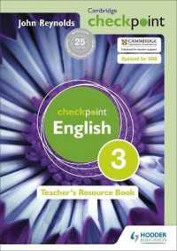 Cambridge Checkpoint English: 3: Teacher's Resource Book