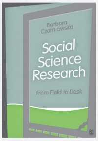 Social Science Research : From Field to Desk