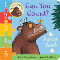 My First Gruffalo: Can You Count? Jigsaw Book -- Board book (Illustrate)
