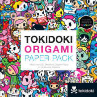 Tokidoki Origami Paper Pack : More than 250 Sheets of Origami Paper in 16 Tokidoki Patterns (CLR CSM)
